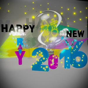 Bonne année 2016, Happy new year 2016 ;)