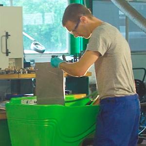 Video produit industriel / fontaine biologique