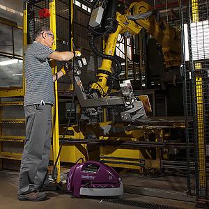 Photographie équipement d'entretien industriel