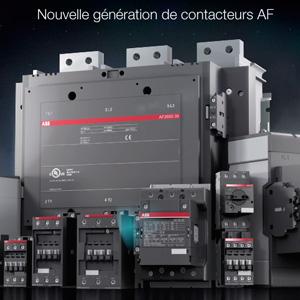 Motion design produit electrique / industrie / ABB Contacteur AF