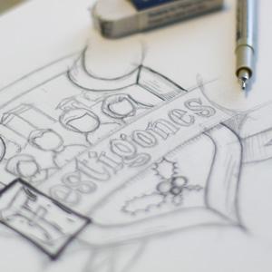 """Création du logo de l'association """"Les Festigones"""" de Montagny"""